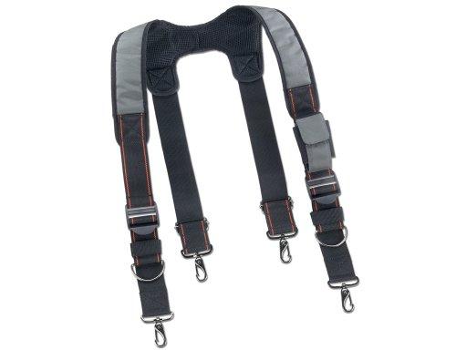 Arsenal 5560 Padded Adjustable Tool Belt Suspenders w/ Front Pocket