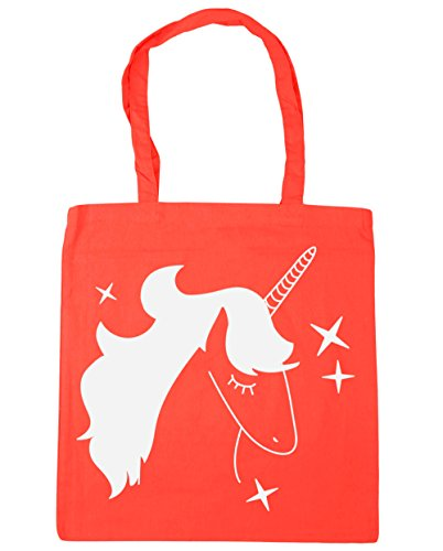 litres Beach Shopping Blue HippoWarehouse Bag 10 Tote Unicorn Coral Gym Star 42cm x38cm IYPddZgqw