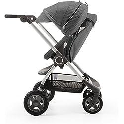 Stokke Scoot Stroller - Black Melange