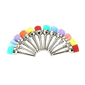 100pcs Polishing Brush Cup Brush Brushes Nylon Bowl by Regener. As