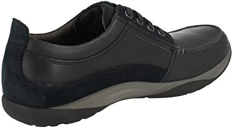 Clarks Mens Casual Route Walk Leather