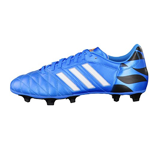 adidas 11questra FG Leather Solar Blue m29863, hombre, 11questra FG Lea, azul/blanco azul/blanco