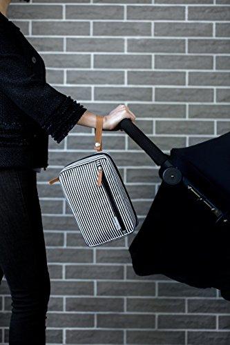 Estación cambiadora portátil Premium Designer de Kute 'n' Koo - Cremallera Completa y Ligera Asegurada - Tela Superior y Cremallera fuerte - Resistente al agua y Lavable - BPA y sin ftalatos -