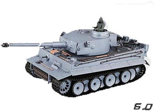 MUZoo.RC Car 1/16 Balas 2.4G Puede Disparar alemán del Tigre del Metal RC Tanque, Radio Control Remoto Batalla blindado Vehículo de Todo Terreno, orugas RC de Juguete, de Alta simulado de Navidad del