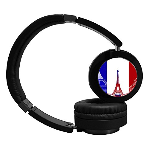 Bluetooth Headphones French Flag Eiffel Tower Noise Cancelling Sleeping Headset Earphone High Sound Quality Computer Best Hi-Fi Headset