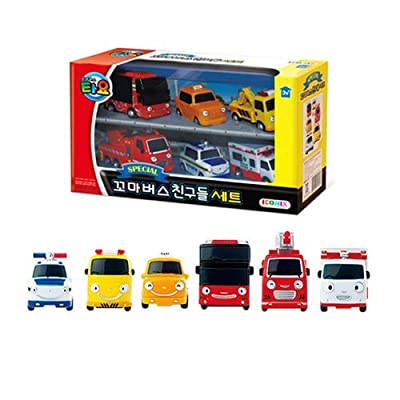 Tayo Little Bus Frends Set 1 (Pat, Toto, Nuri, Citu, Frank, Alice) |: Toys & Games