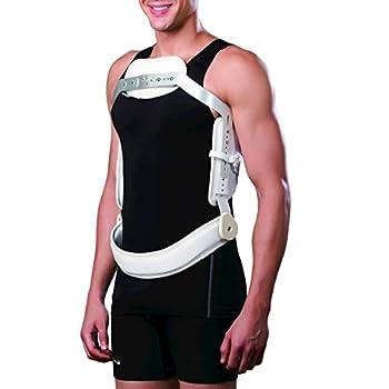 Image of Back Braces Orthomen TLSO Hyperextension Back Brace Thoracic Mechanical Back Pain & Thoracolumbar Injury (M)