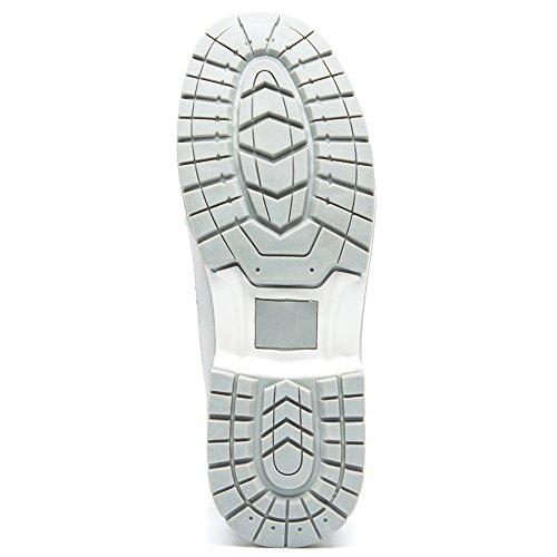 de para Mujer para Botines Planos Zapatos AnjouFemme Impermeables Spring con Cordones Botas C Mujer 1xq5a