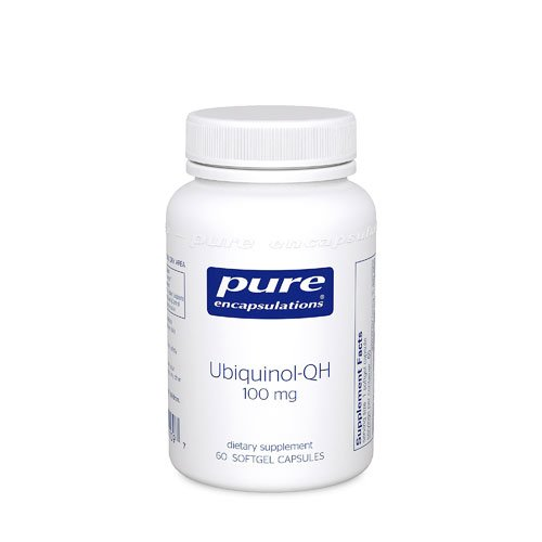 Pure Encapsulations Ubiquinol-QH -- 100 mg - 60 Softgel Capsules - 2PC by Pure Encapsulations