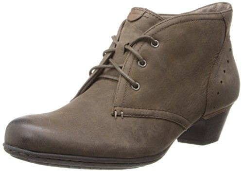 Rockport Cobb Hill Women's Aria-Ch Boot, Stone, 10 M US (High Hill Work Boots)