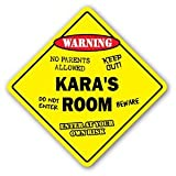 KARA'S ROOM Sticker Sign kids bedroom decor door children's name boy girl gift - Sticker Graphic Personalized Custom Sticker Graphic