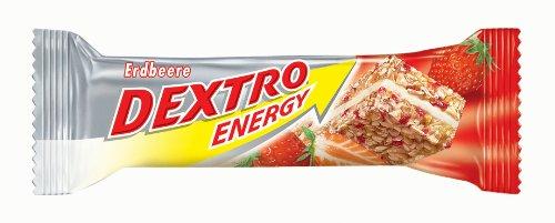 Dextro Energy Energieriegel Erdbeer, 25er Pack (25 x 35 g)