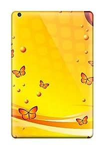 Awesome Case Cover/ipad Mini/mini 2 Defender Case Cover(bright Orange Butterflies ) wangjiang maoyi