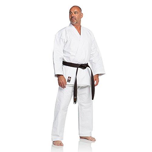 Ronin Brand Super Heavyweight 16oz. Karate Gi (White, 5)