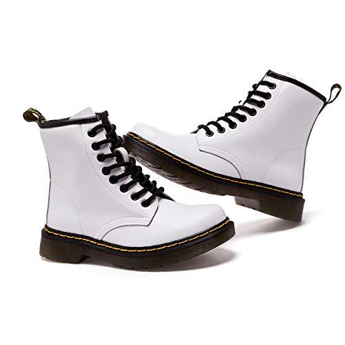 Stivali Cavaliere SITAILE Bianca A Boots Pelliccia Inverno Stringati Stivali Donna Neve caldo Uomo Snow Stivaletti v6rpxvz