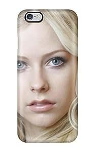New Tpu Hard Case Premium Iphone 6 Plus Skin Case Cover(celebrity Avril Lavigne)