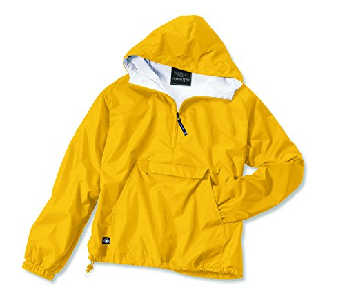 - Charles River Apparel Women's Front Pocket Classic Pullover - Golden Yellow, Small
