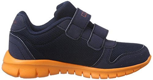 Kappa NOTE K - Zapatillas Unisex Niños Azul (6744 Navy/orange)