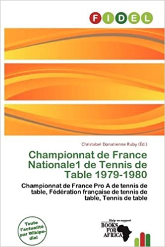 Livres gratuits en ligne Championnat de France Nationale1 de Tennis de Table 1979-1980 pdf