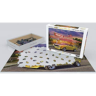 EuroGraphics Daytona Yellow Zeta 1000-Piece Puzzle: Toys & Games