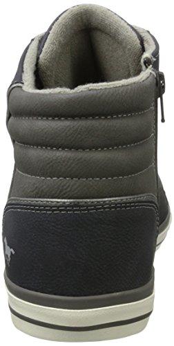 Mustang 4096-501-800, Zapatillas Altas para Hombre Azul (Dunkelblau)