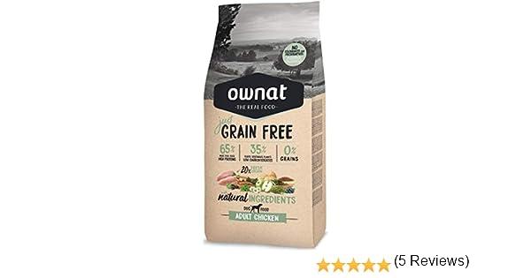 Ownat Dog Just Grain Free Adult Chicken 14000 g: Amazon.es: Productos para mascotas