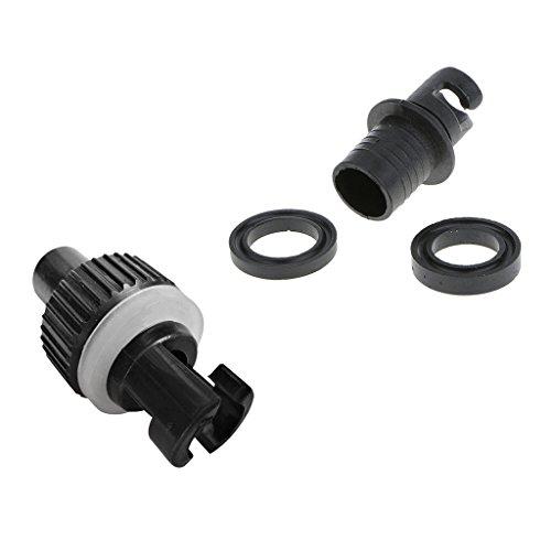 Baosity 2Pcs H-R Valve Adapter Connector Foot Pump for Inflatable Boat Kayak Dinghy -  562a2f8d65ec9dc2d1487e65b13e2adc