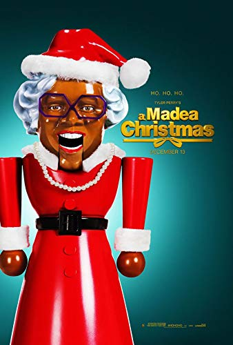 A Madea Christmas 14inch x 21inch Silk Poster Wallpaper Wall Decor Silk Prints for Home and Store (Christmas A Poster Madea)