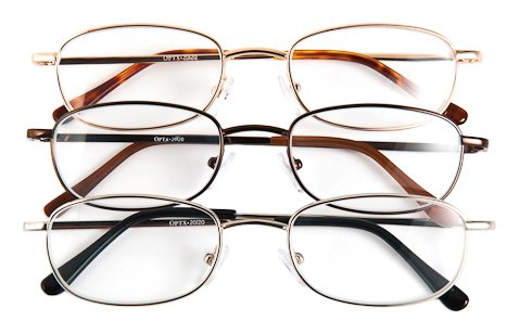 Optx 20/20 Alpha Alloy Readers, Metal Readers +450, (Pack of - Glasses Frames Alpha