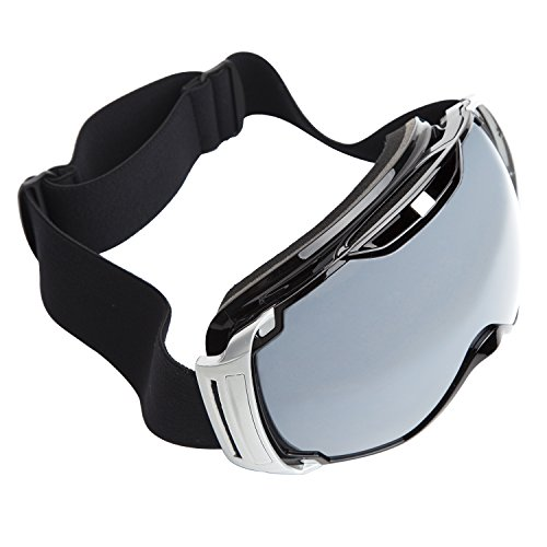 Adult Skiing Goggles Anti Fog Double Lens Snow Board Unisex Snow Goggles Blackmattred