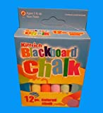 12Pc. Colored Chalk Kittrich, Case of 144