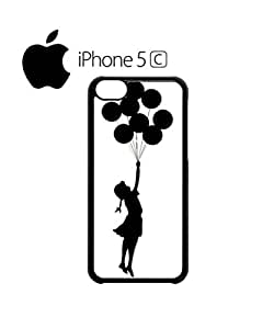 Banksy Balloon Girl Mobile Cell Phone Case Cover iPhone 5c White