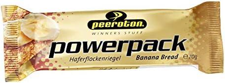 Peeroton Powerpack Riegel Banana Bread, 15er Pack (15 x 70 g)