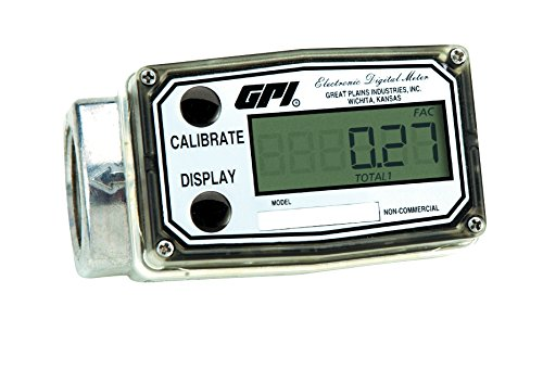 GPI 113900-9501, 03A31GM Aluminum Turbine Fuel Flowmeter, 1-Inch FNPT, 3-50 GPM by GPI® The Proven Choice®