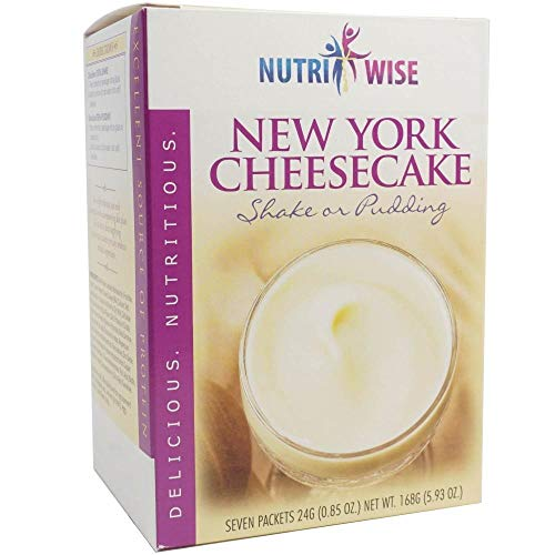 NutriWise – Cheesecake Shake & Pudding   High Protein, Low Carb, Low Sugar, Low Fat (7/Box)