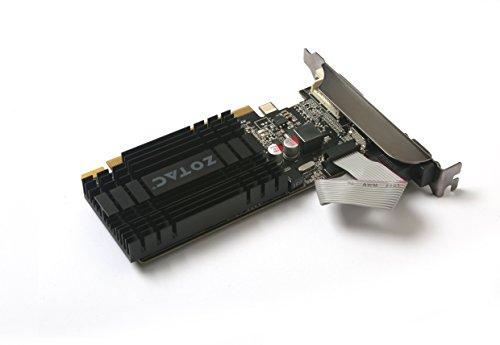 ZOTAC GeForce GT 710 2GB DDR3 PCI-E2.0 DL-DVI VGA HDMI Passive Cooled Single Slot Low Profile Graphics Card (ZT-71302-20L) by ZOTAC (Image #6)