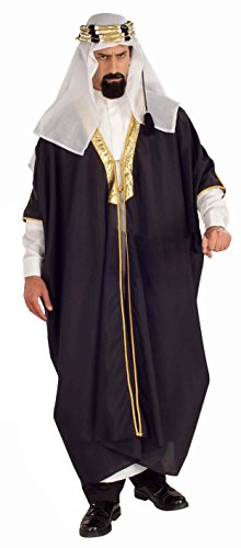 Forum Novelties Men's Arab Sheik Costume, Multi, Standard -