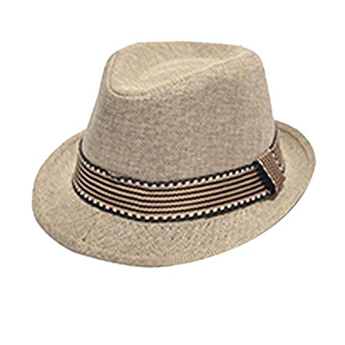 WXBUY Chic Jazz Toddler Kids Baby Boy Girl Cap Cool Photography Fedora Hat H4 (Infant Top Hat)