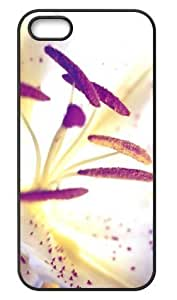 Deep Pink Lily Hard Durable Back Case Protective For Your iPhone 5,5s Skin