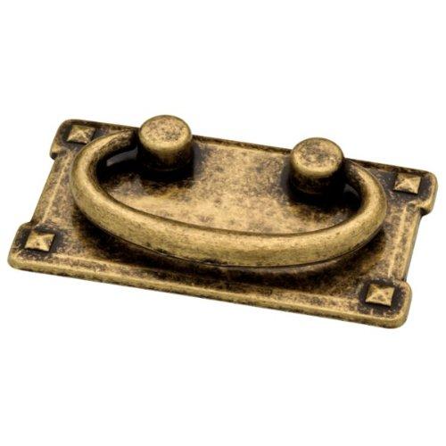 Liberty 62076AB 3-Inch Horizontal C-C Bail Kitchen Cabinet Hardware Drawer  Handle Pull, Antique Brass - Antique Furniture Pulls: Amazon.com