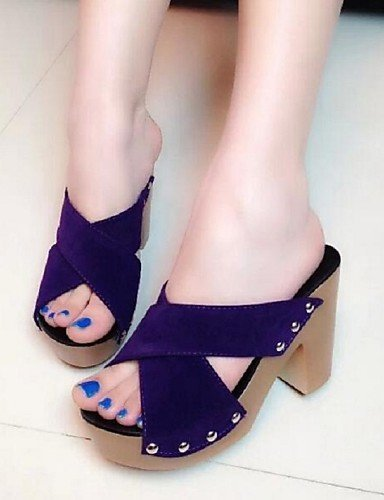Can Colors Comfort Shoes Cross Chunky Sandals Available Dress Blue ShangYi Women's More Heel Beading BYwavqP