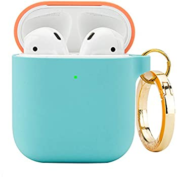 Amazon.com: Pink Apple AirPod 2 Wireless Charging Silicone