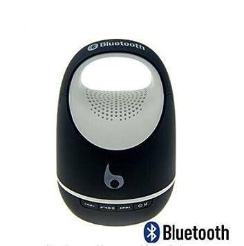 Negro S05C Mini Bluetooth Inalámbrico Altavoces Estéreo Portátil-Compatible con Compatible con iPhone, Samsung