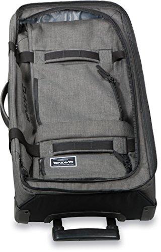 Dakine 10000784  - Unisex Split Roller Luggage Bag - Durable Construction - Split-Wing Collapsible Brace Level - Exterior Quick Access Pockets (Carbon, 85L) by Dakine (Image #8)