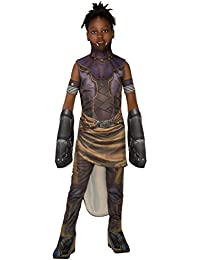 rubies girls black panther deluxe shuri costume large