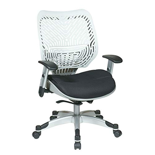 SPACE REVV Series - Self Adjusting Ice SpaceFlex Back Chair and Shadow Mesh Seat Back/Seat Type: Ice
