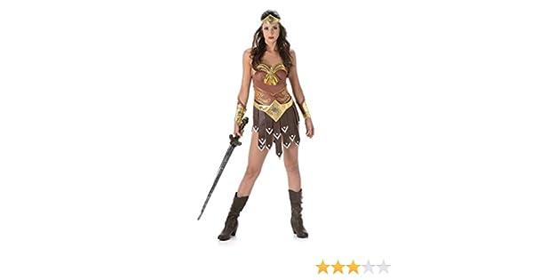 Generique - Disfraz de gladiadora Mujer L: Amazon.es: Juguetes y juegos
