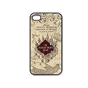 RC - Marauder's Map Harry Potter Movie Series Pattern Plastic Hard Case Cover for iPhone 5c