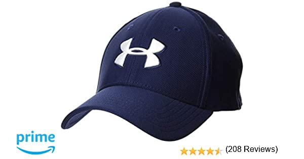 Under Armour Mens Blitzing 3.0 Cap Gorra, Hombre, Azul (Midnight ...