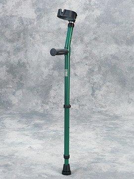 Walk Easy Youth forearm crutches w/full cuff Model 582 (pair) (Deep Blue)